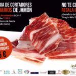 4ª Feria de Cortadores de Jamón Solidarios en San Fernando (Cádiz).