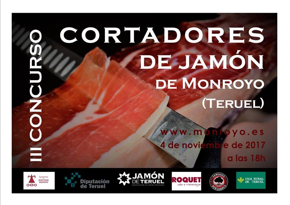 III Concurso de Cortadores de Jamón Monroyo (Teruel)
