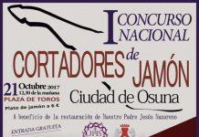I Concurso Nacional de Cortadores de Jamón Amateurs Ciudad de Osuna
