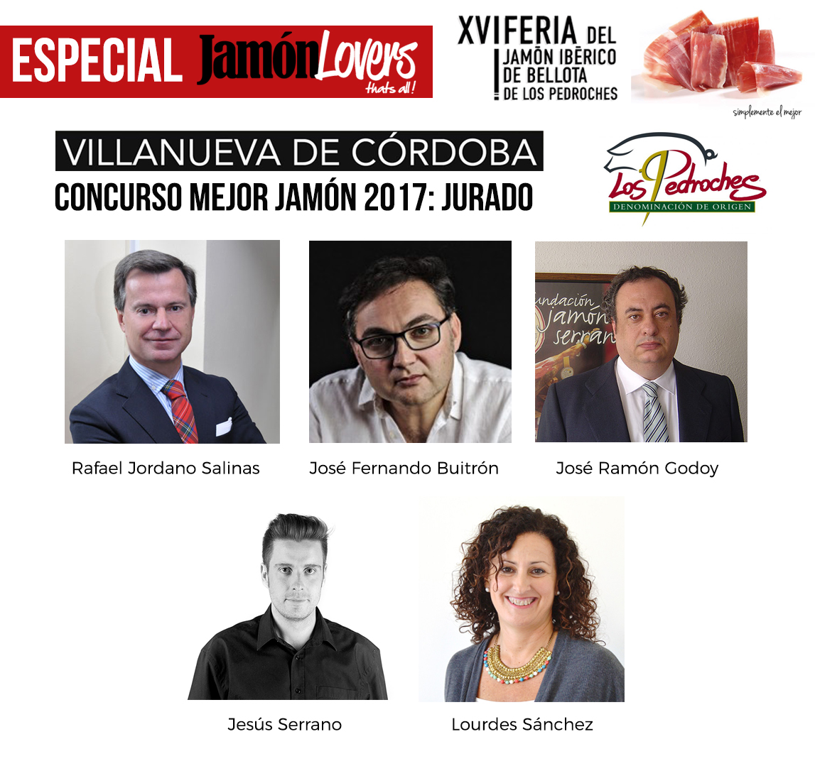 El jurado del Concurso al mejor Jamón de Bellota 100% Ibérico DOP Los Pedroches