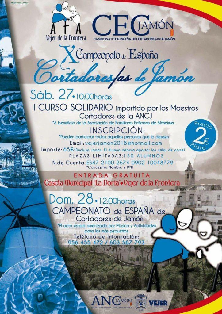 I Curso Solidario impartido por los Maestros Cortadores de la ANCJ en Vejer