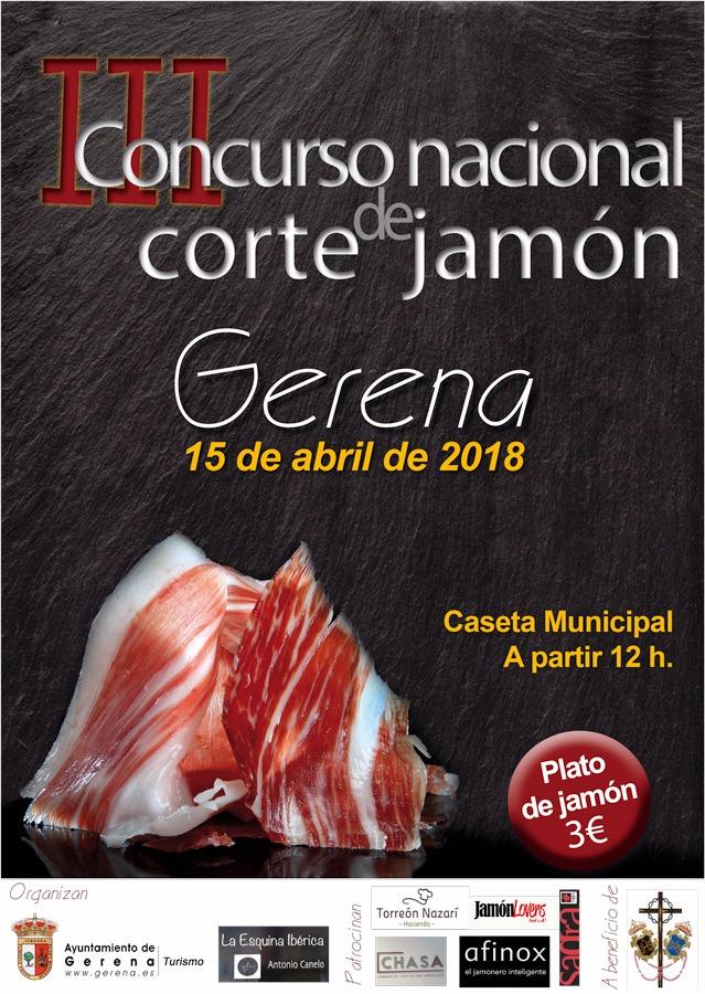 III Concurso de Corte de Jamón en Genera