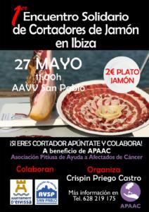 I Encuentro Solidario de Cortadores de Jamón en Ibiza