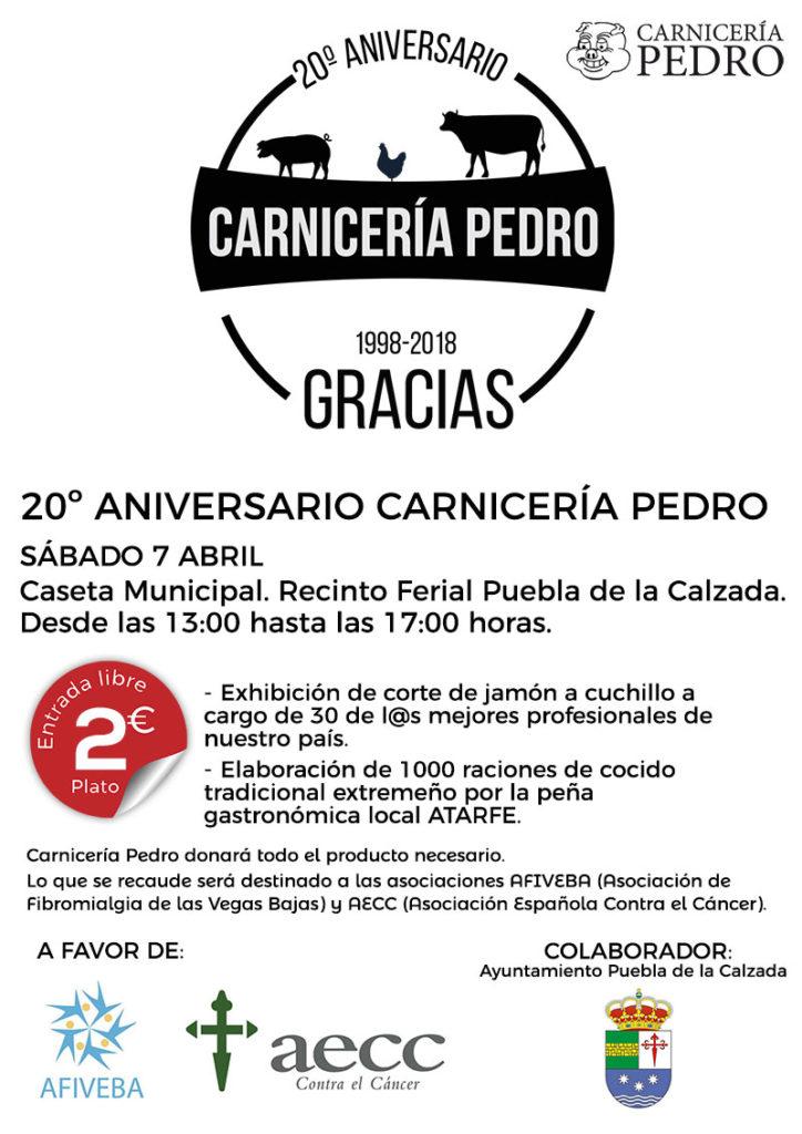 20º Aniversario Carnicería Pedro Puebla de la Calzada