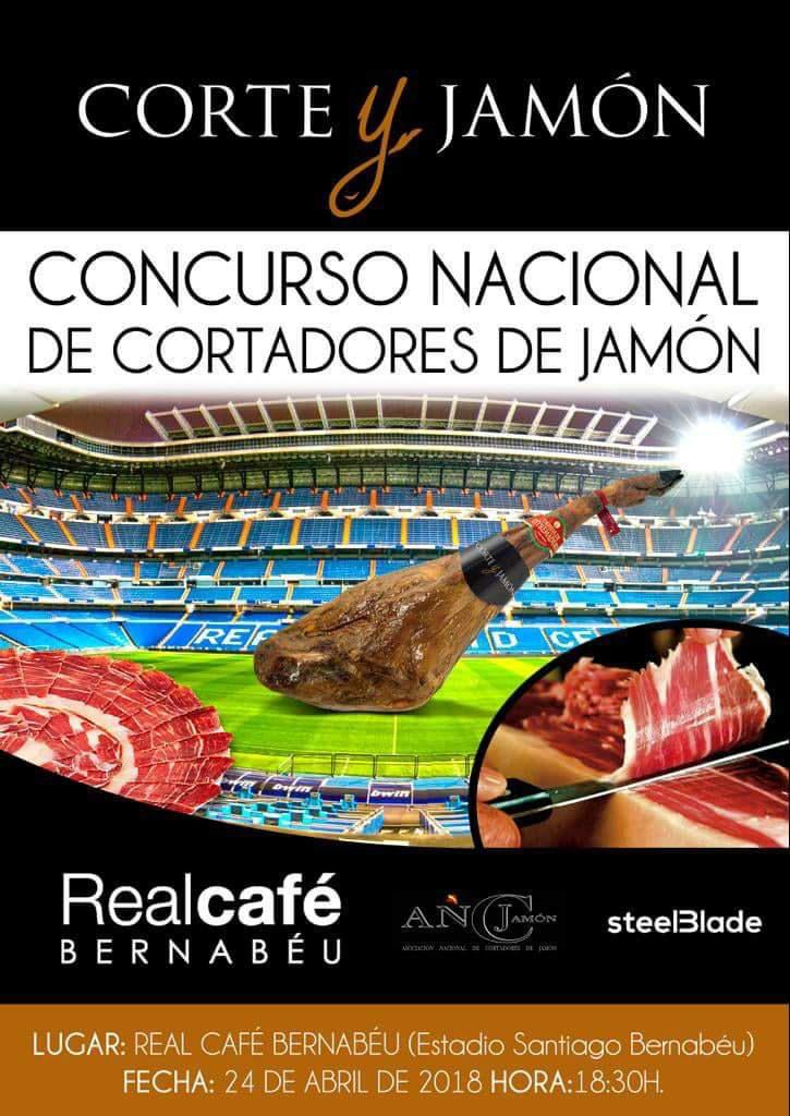 I Concurso Cortadores de Jamón Real Café Bernabéu