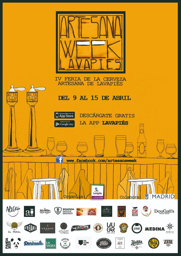 Artesana Week Lavapiés: Más de 400 cervezas artesanas