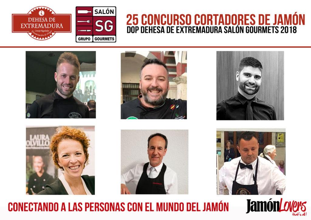 25 Concurso de Cortadores de Jamón Dehesa de Extremadura Salón de Gourmets 2018