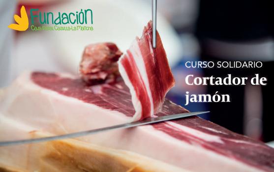 Curso solidario de cortador de jamón Fundación Caja Rural Castilla-La Mancha