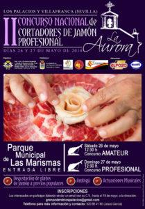 II Concurso Nacional de Cortadores de Jamón Profesional Los Palacios y Villafranca (Sevilla)