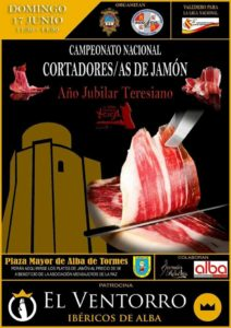 Campeonato Nacional de Cortadores y Cortadoras de Jamón Alba de Tormes