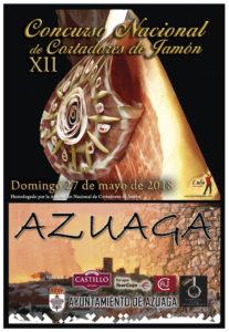 Concurso Cortadores de Jamón Azuaga 2018