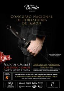 II Concurso Nacional de Cortadores de Jamón Feria de Cáceres