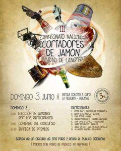 III Campeonato Nacional de Cortadores de Jamón Ciudad Langreo