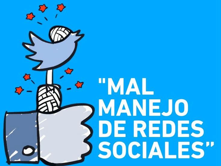 Marketing digital aplicado al mundo del jamón, mal manejo redes sociales