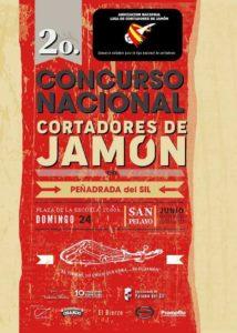 II Concurso Nacional de Cortadores de Jamón Peñadrada del Sil