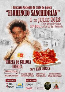 """I Concurso Nacional de corte de paleta """"Florencio Sanchidrian"""""""