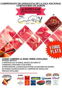 Campeonato de Andalucía de la Liga Nacional Cortadores de Jamón