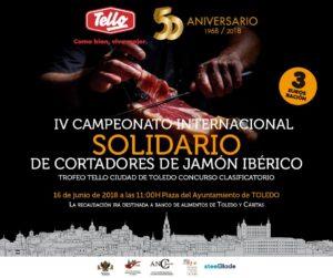 IV Campeonato Internacional Solidario de Cortadores de Jamón Toledo