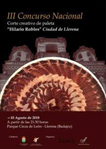 III Concurso Nacional Corte Creativo de Paleta. Hilario Robles. Ciudad de Llerena.
