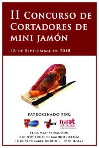 II Concurso de Cortadores de Mini Jamón