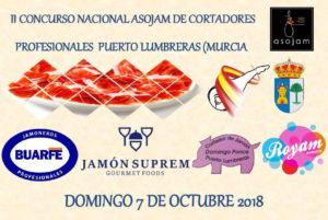II Concurso Nacional de Cortadores de Jamón ASOJAM, Puerto Lumbreras