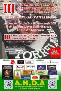 III Certamen de Cortadores y Cortadoras de Jamón Ciudad de Torrelavega (Cantabria)