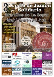 3º Corte de Jamón Solidario Vejer de la Frontera (AGACUJ)