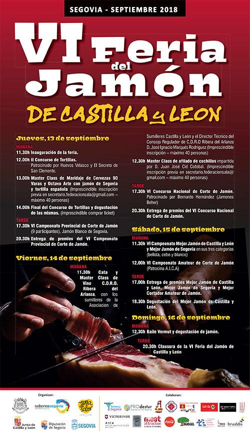 VI Feria del Jamón de Castilla y León