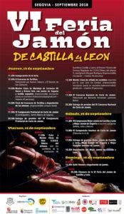 Feria del Jamón de Castilla y León. Segovia 2018