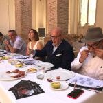 Concurso Mejor Jamón de Teruel 2018. Jurado durante la cata.