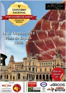 V Concurso Nacional Cortadores de Jamón Ciudad de Sevilla