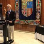 Concurso Mejor Jamón de Teruel 2018. Ricardo Torres entrega de premios.