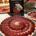 Concurso Mejor Jamón de Teruel 2018. Plato mejor jamón DOP Teruel.