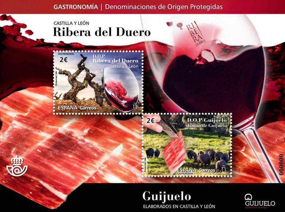 La Denominación de Origen Jamón de Guijuelo estrena su propio sello de Correos