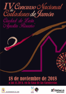 IV Concurso Nacional de Cortadores de Jamón Ciudad de León, Agustín Risueño