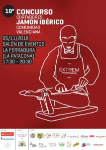 10º Concurso Contadores de Jamón Ibérico Comunidad Valenciana