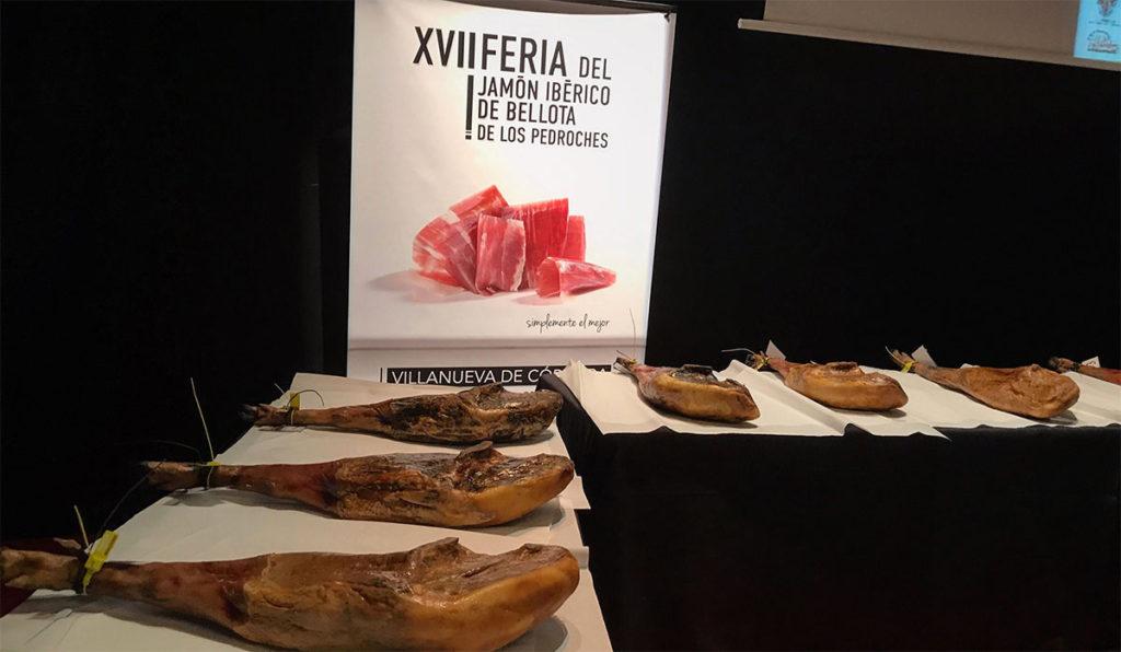 Concurso al mejor Jamón de Bellota 100% Ibérico DOP Los Pedroches 2018