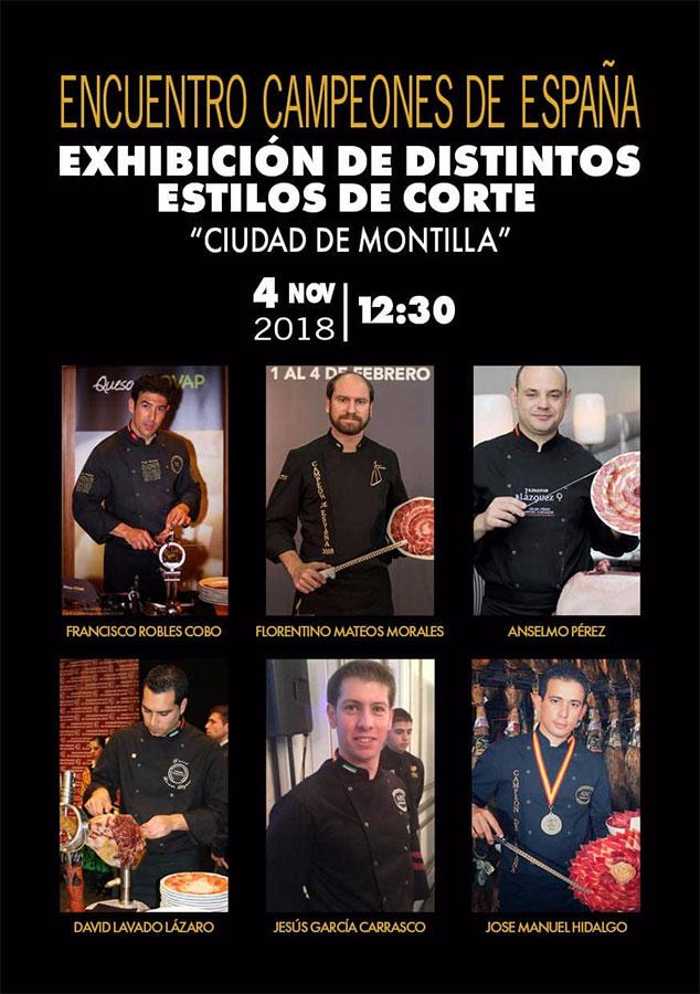 Encuentro Campeones de España en Montilla
