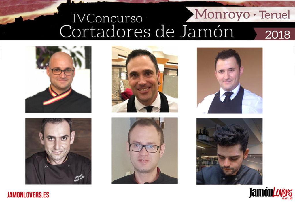 Participantes IV Concurso Cortadores de Jamón Monroyo 2018