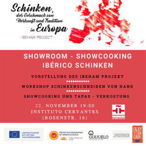 Showroom showcooking Berlin, Ibeham