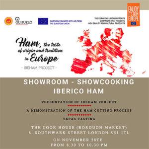 Showroom showcooking Londres, Ibeham