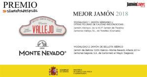 Premio Alimentos de España al mejor Jamón 2018