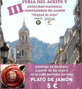 Concurso Cortadores Jamón Ciudad de Jaén