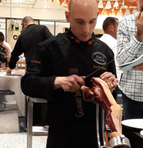 Finalistas XI Campeonato de España Corte de Jamón, Jose M. Iniesta Diaz-Pavon