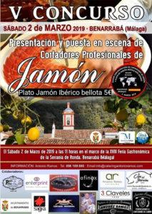 V Concurso de Cortadores de Jamón Benarrabá (Málaga)