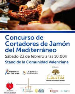 Concurso cortadores de jamón del mediterráneo