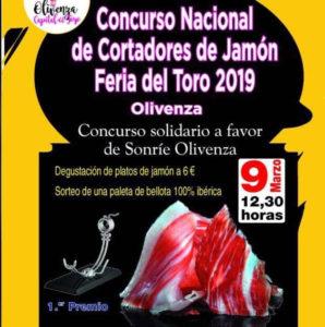 Concurso Nacional Cortadores de Jamón Solidario Olivenza