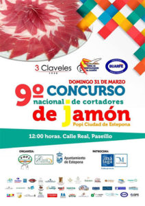 9º concurso cortadores de jamón Popi ciudad Estepona