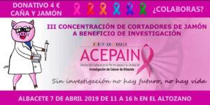 III Concentración Solidaria de Cortadores de Jamón Albacete