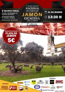 Concurso cortadores de jamón Escacena del Campo